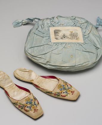 Shoes and Bag of Agnes Thompson