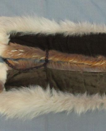 Underside of Fox Fur Trim