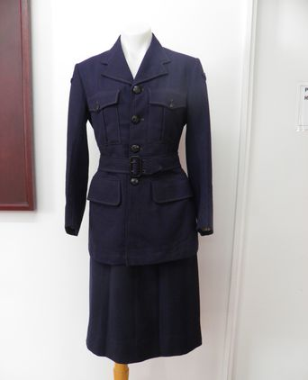 Ena Wilson's WAAF uniform