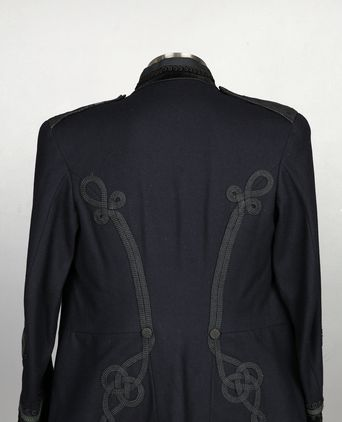 Rear view of tunic