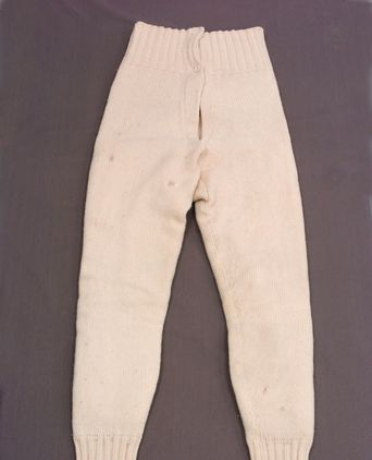 Diver's underclothing - long johns worn by Tim Wray