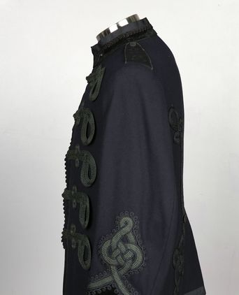 Left sleeve of tunic