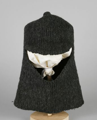 Balaclava used by Morton Henry Moyes during Sir Douglas Mawson's Australasian Antarctic Expedition, 1911-1913