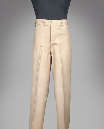 Front view of trousers