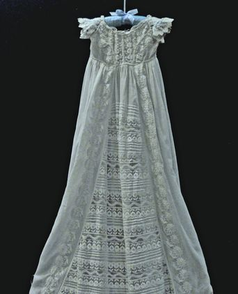 West Christening Robe 1908