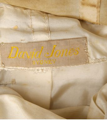 David Jones label.
