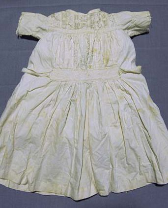 Christening gown front