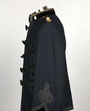 Left sleeve of Inspector Dress Tunic