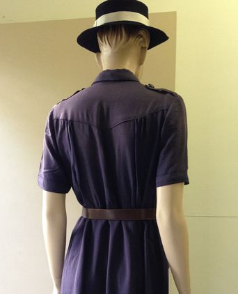 Girl Guides Queensland Cadet Uniform Back