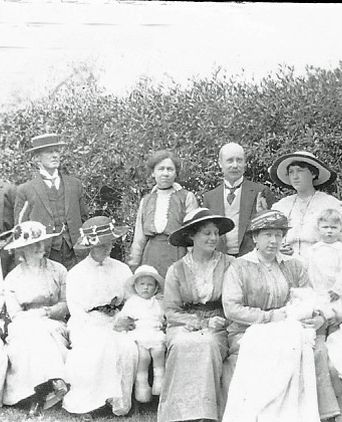 Christening of Lydia West 1915