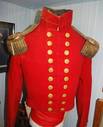 John Vaughan Thompson's Regimental Jacket
