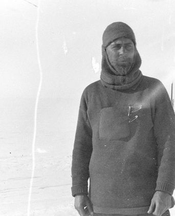 Morton Henry Moyes, Antarctica, ca 1911, half plate photonegative, State Library of NSW
