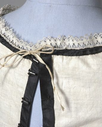 Inside of Bodice Back