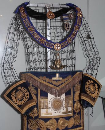 Masonic Regalia of Lord Carrington