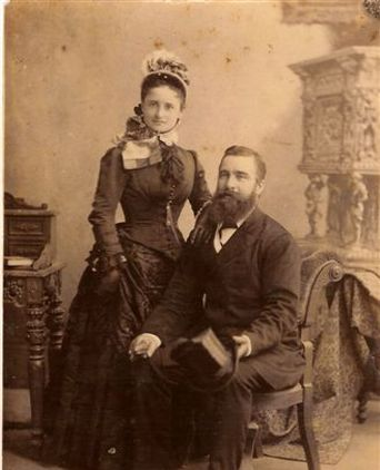 Emily and husband Captain William John Whaites