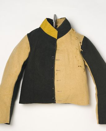 Convict jacket, made in Great Britain, 1855-1880