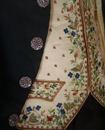 Court Costume detail.