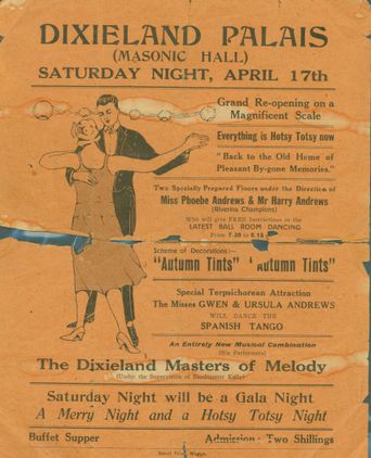 Advertisement for Wagga's Dixieland Palais, c. 1929