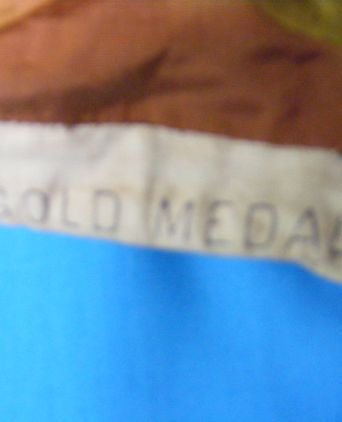 Labels on waistband