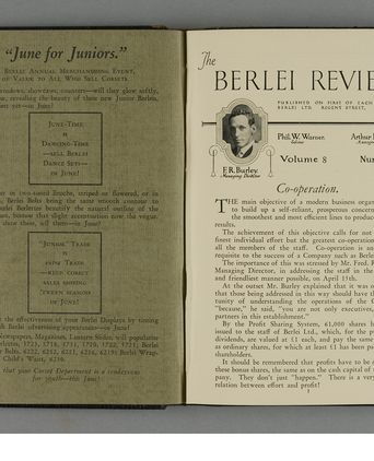 Booklet celebrates Berlei's 50 years (P3645-30/1/110)