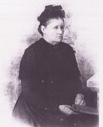 Nancy Broomfield in her later years