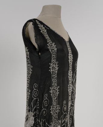 Proper front right view of sheath dress