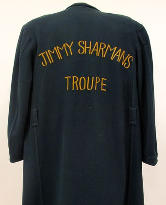 Jimmy Sharman's Dressing Gown - Back view