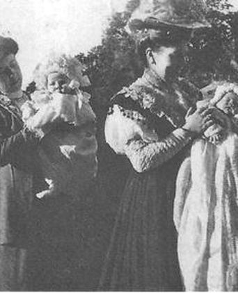 Christening of Kathleen West 1908