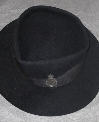 Nurse Burke's hat with Voluntary Aid Detachment badge, Wagga Wagga. Photographer, Rachael Vincent, 15.12.11