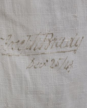 Joseph Brady Linen Shirt, Laundry Mark