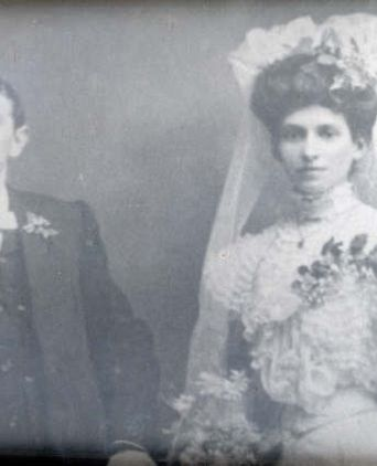 Alice and Walter Cooper's wedding photo