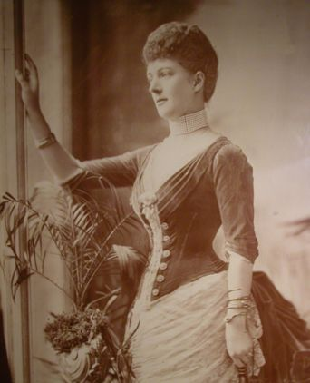 Portrait of Princess Alexandra displayed in the Drawing room at Rouse Hill House & Farm