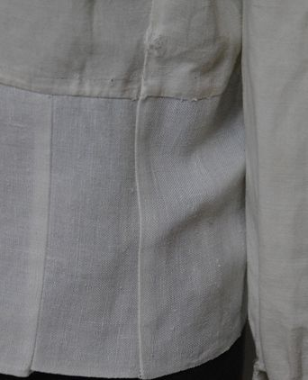 Mall's blouse showing the alteratons
