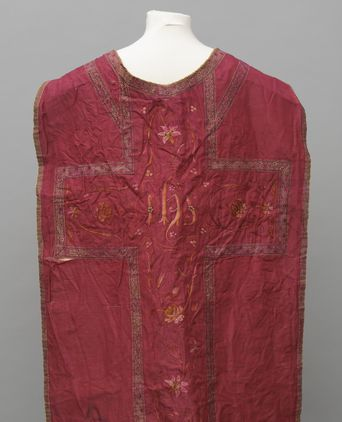 Back of Roman Chasuble