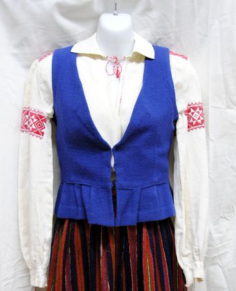 Vest worn by Mall Juske